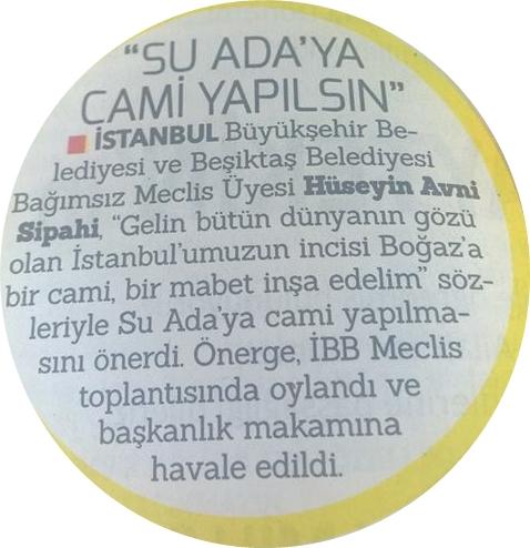 SU ADAYA CAMİ